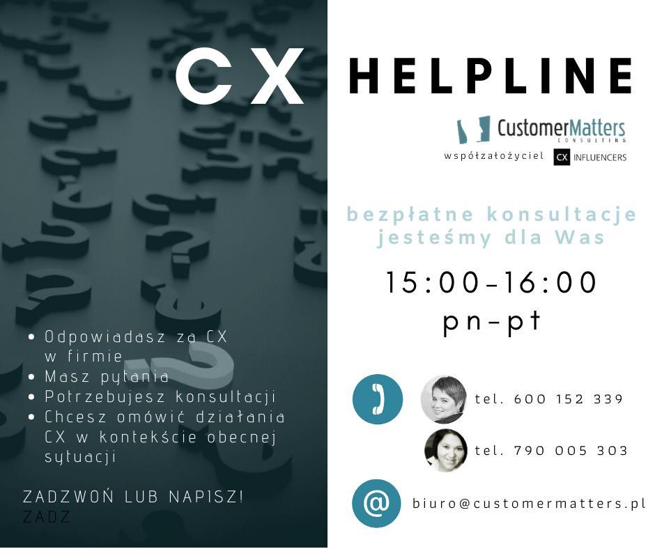 Specjalne dyżury CustomerMatters – porozmawiaj z nami o CX w dobie COVID-19