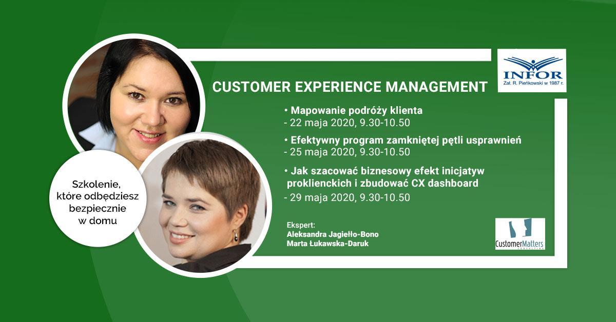 Zapraszamy na cykl webinarów Customer Experience Management