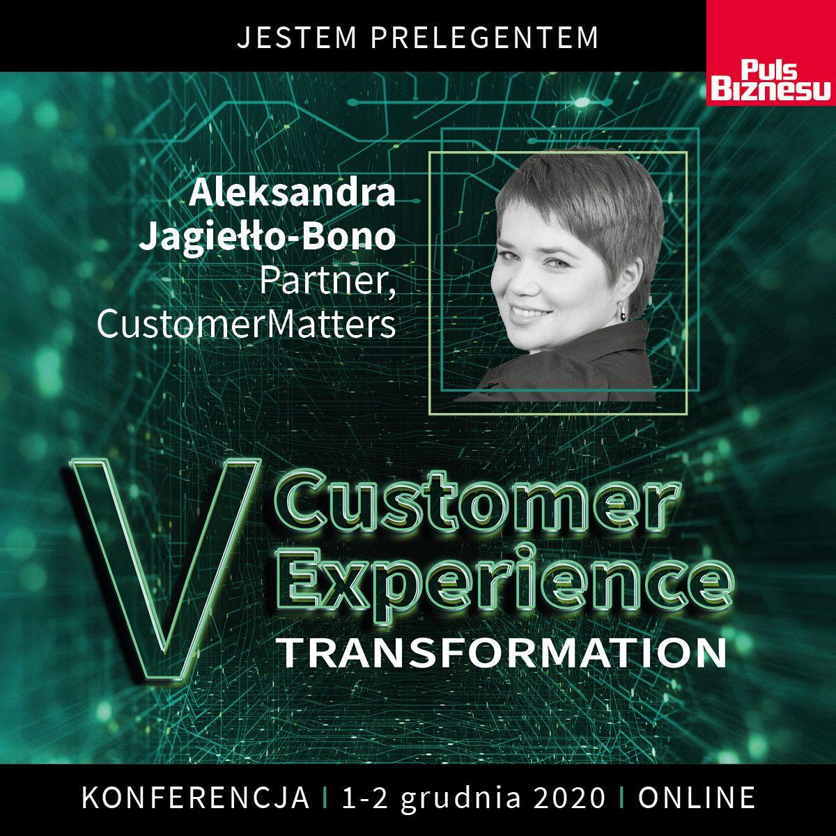 Czekamy na Was na V edycji konferencji Customer Experience Transformation – już 1 i 2 grudnia!